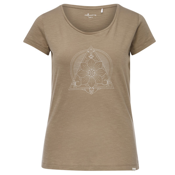 FRILUFTS Flühli Printed T-Shirt Frauen - T-Shirt