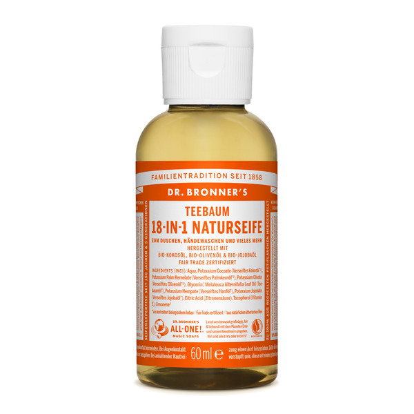 Dr. Bronner' s 18-IN-1 NATURSEIFE - Outdoor Seife