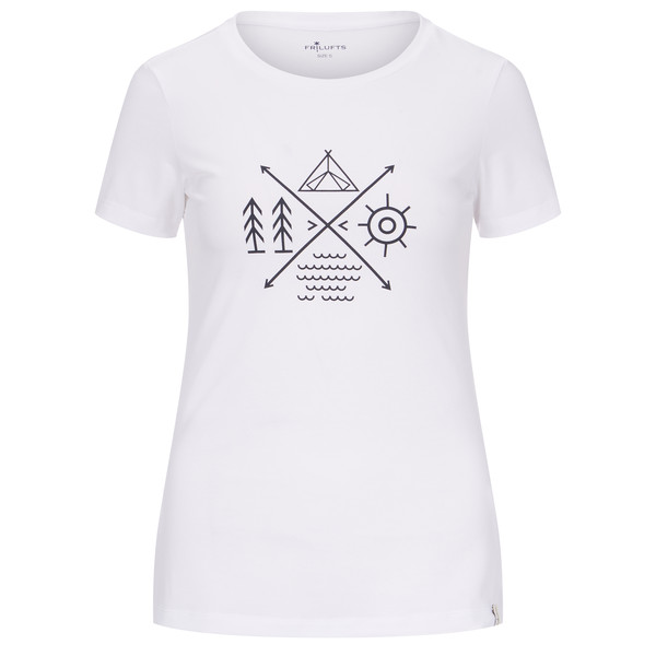 FRILUFTS BITONTO PRINTED T-SHIRT Frauen - T-Shirt