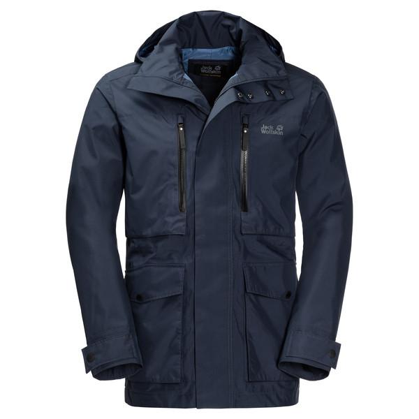 Jack Wolfskin Bridgeport Jacket Männer - Regenjacke
