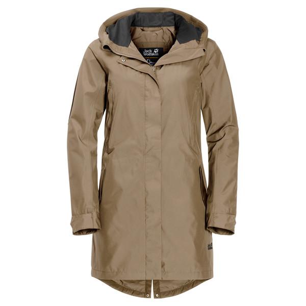 Jack Wolfskin Monterey Coat Frauen - Regenmantel