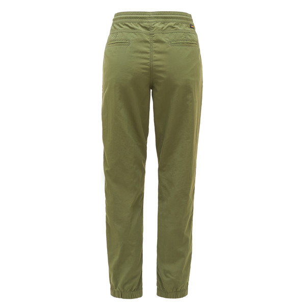 Titan-gelb Elastische Damenhose Chillaz Active Women Pant