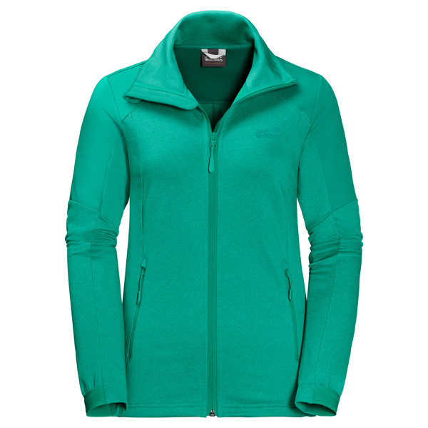 jack wolfskin outdoor fleecejacke damen gr 46