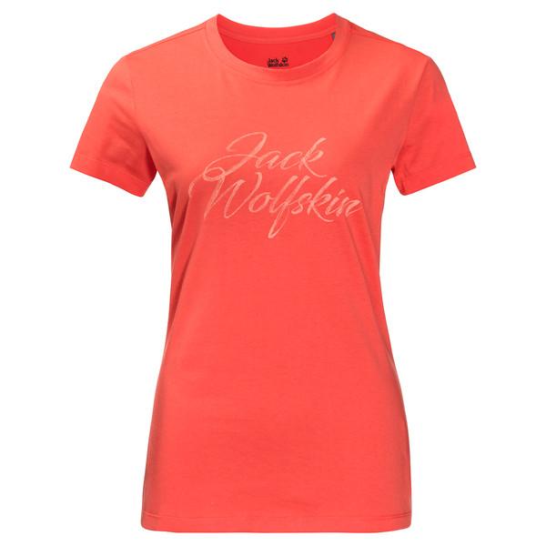 Jack Wolfskin BRAND T Frauen - T-Shirt