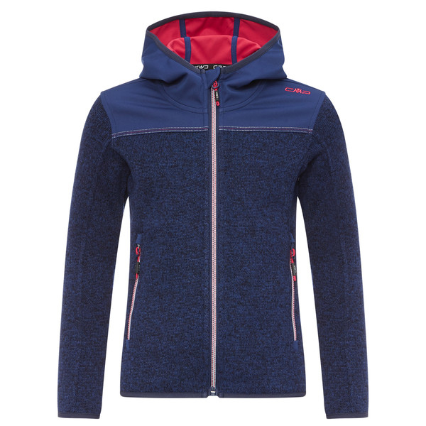 CMP Fix Hood Jacket Kinder - Fleecejacke