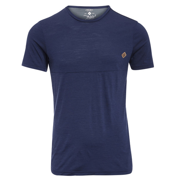 Triple2 Tuur Merino Short Sleeve Shirt Männer - Funktionsshirt