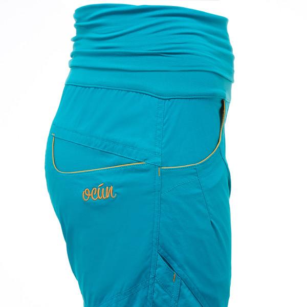 L yellow Gr Ocun Noya Shorts Women  3//4-Lange Kletterhose für Damen  brown