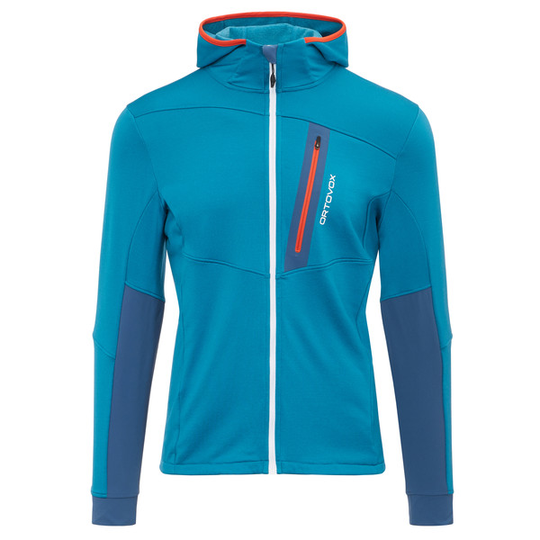 Ortovox Fleece Light Tec Hoody Männer - Fleecejacke