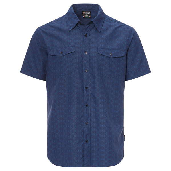 Sherpa SURYA SHORT SLEEVE SHIRT Männer - Outdoor Hemd