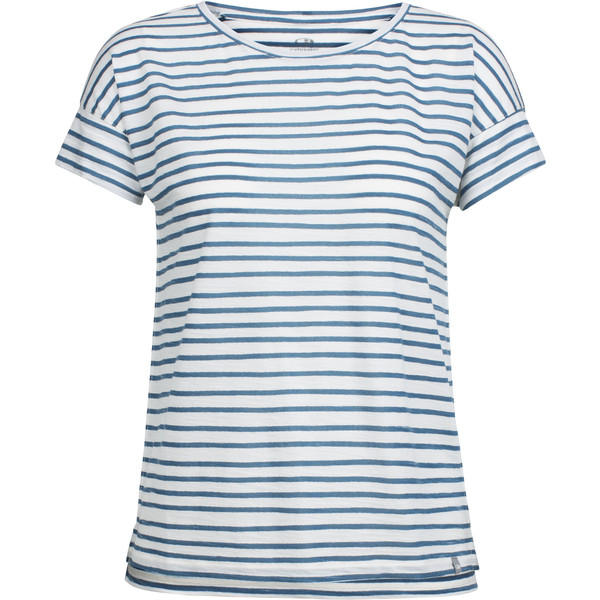 Icebreaker Aria SS Scoop Pulled Lines Frauen - Funktionsshirt