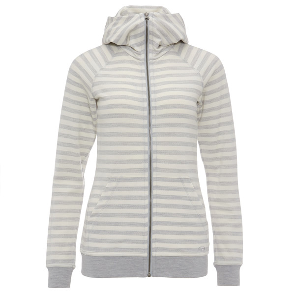 Icebreaker Crush LS Zip Hood Frauen - Wolljacke