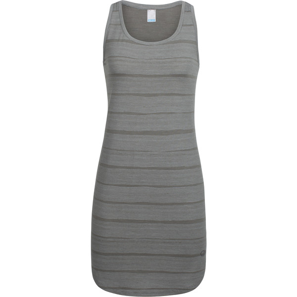 Icebreaker Yanni Tank Dress Combed Lines Frauen - Kleid