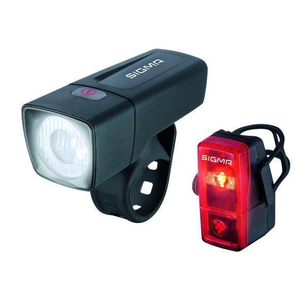 Sigma AURA 25 / CUBIC KOMPLETT-SET - - Fahrradbeleuchtung