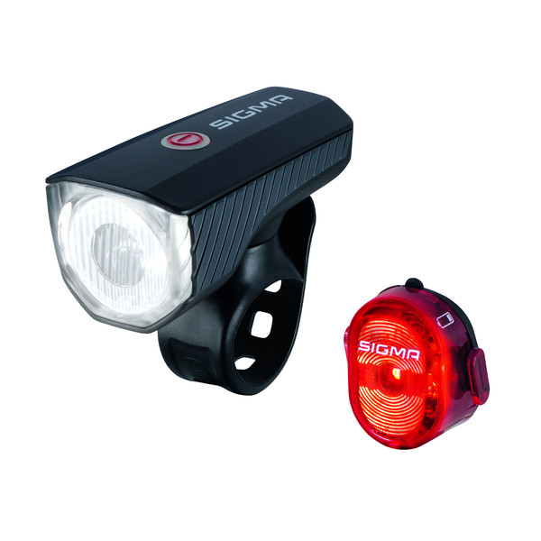 Sigma Aura 40 USB / Nugget II Komplett-Set - Fahrradbeleuchtung