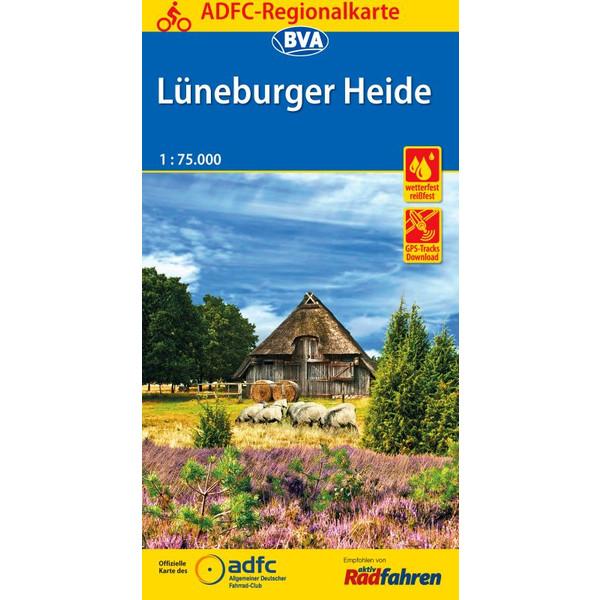 ADFC-Regionalkarte Lüneburger Heide