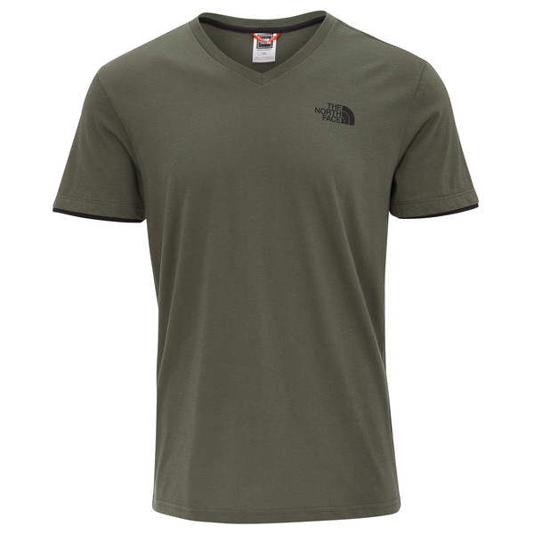 The North Face V-Neck S/S Tee Männer - T-Shirt