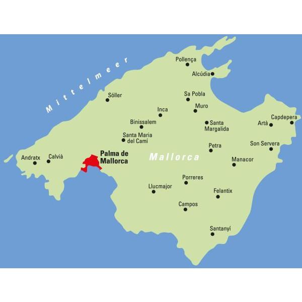 ADFC-Regionalkarte Mallorca