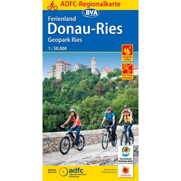 ADFC-Regionalkarte Ferienland Donau-Ries