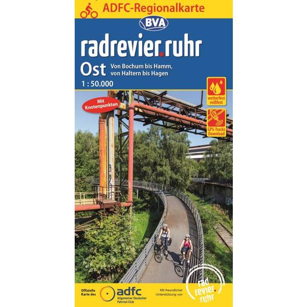 ADFC-Regionalkarte radrevier.ruhr Ost