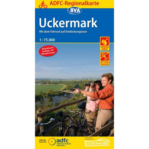 ADFC-Regionalkarte Uckermark
