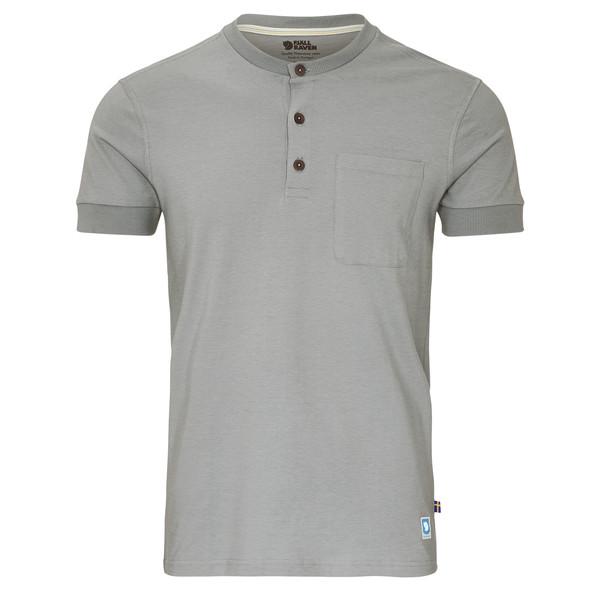 Fjällräven Greenland Buttoned SS Männer - T-Shirt