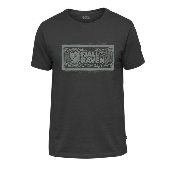 Fjällräven LOGO STAMP T-SHIRT M Männer - T-Shirt