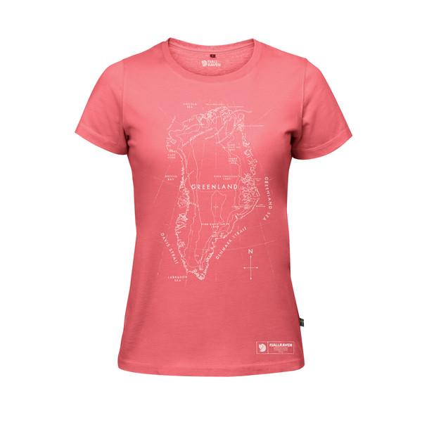 Fjällräven Greenland Printed T-Shirt Frauen - T-Shirt