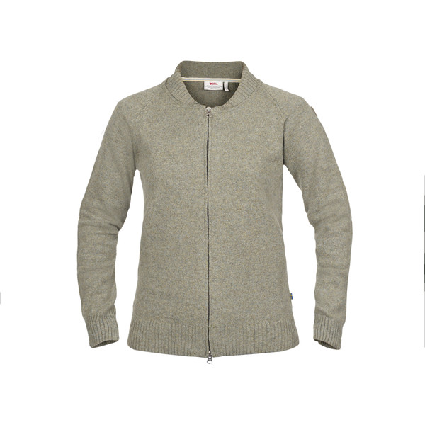 Fjällräven ÖVIK RE-WOOL ZIP JACKET W Frauen - Wolljacke