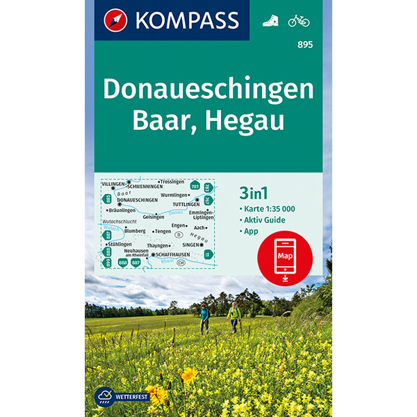 KOKA 895 Donaueschingen 1:35 000