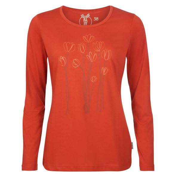 Elkline BLÜTEZEIT Frauen - Langarmshirt