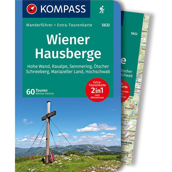 Kompass Wanderführer Wiener Hausberge