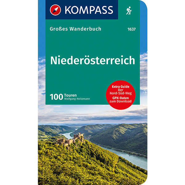 Kompass Wanderbuch Niederösterreich