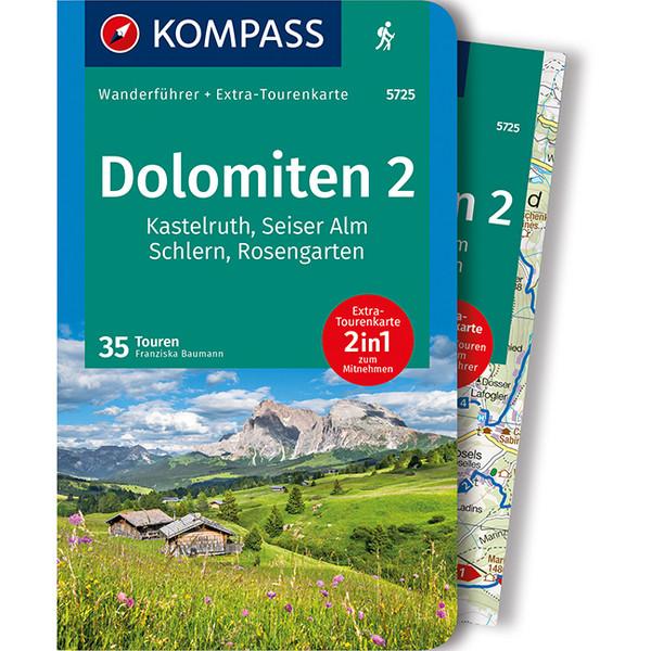 KOMPASS WANDERFÜHRER DOLOMITEN 2 - Wanderführer