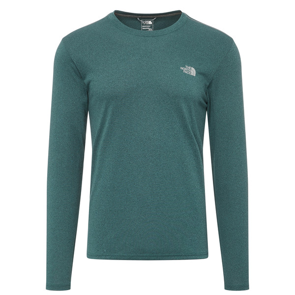 The North Face REAXION AMP L/S CREW - EU Männer - Funktionsshirt