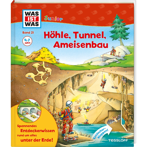 WAS IST WAS Junior Höhle, Tunnel