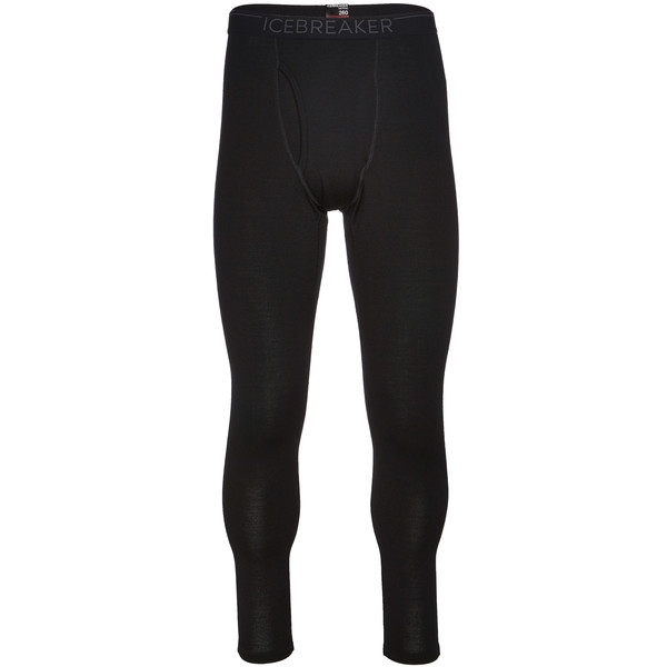 Icebreaker MENS 260 TECH LEGGINGS W FLY Männer - Funktionsunterwäsche