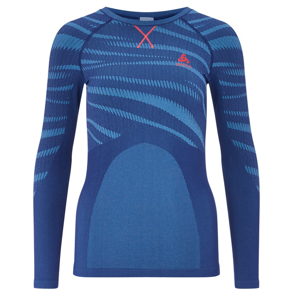 Odlo BL TOP Crew neck l/s BLACKCOMB Frauen - Funktionsunterwäsche