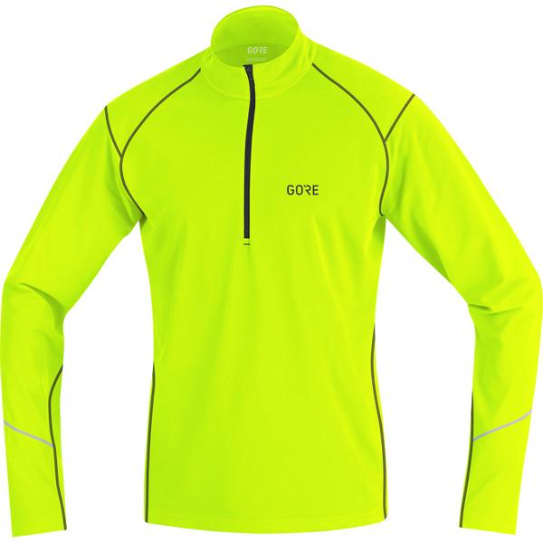 Gore Wear R3 THERMO LONG SLEEVE ZIP SHIRT Männer - Fleecepullover