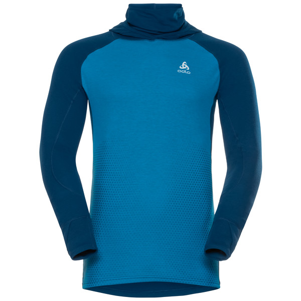 Odlo TOP W/FACEMASK L/S ACTIVE REVEL Männer - Funktionsunterwäsche