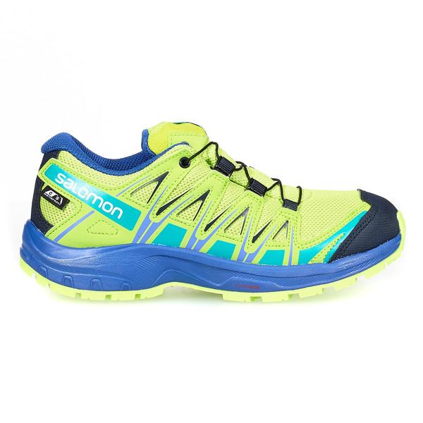 Details zu Salomon XA Pro Kinder Outdoor Schuhe hellgrün Gr. 36