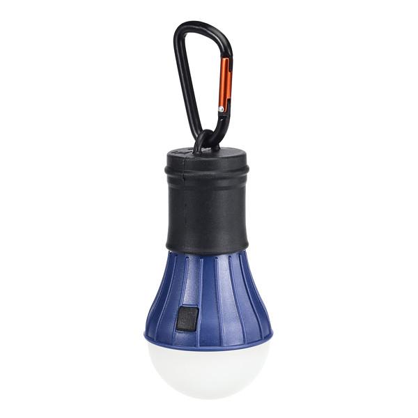 LED Zeltlampe m. Karabiner - Laterne