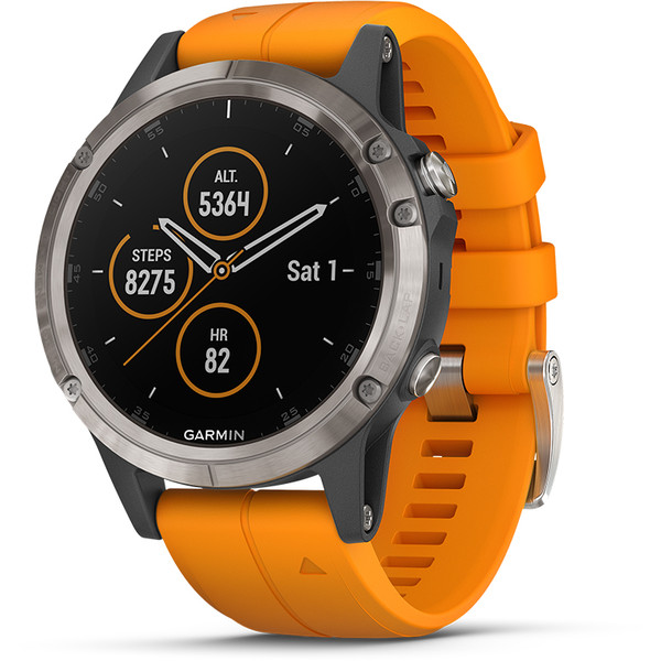 Garmin FENIX 5 PLUS SAPHIRE - - Smartwatch