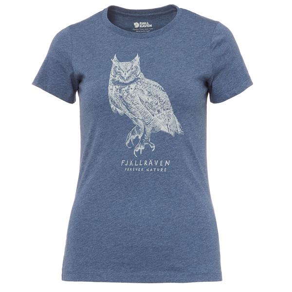 Fjällräven OWL PRINT T-SHIRT W Frauen - T-Shirt