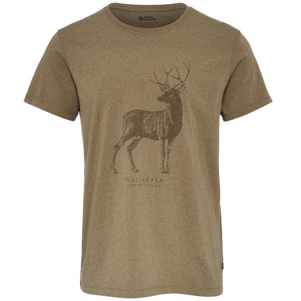 Fjällräven DEER PRINT T-SHIRT M Männer - T-Shirt