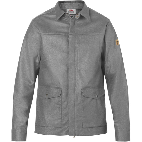 Fjällräven GREENLAND RE-WOOL SHIRT JKT M Männer - Wolljacke