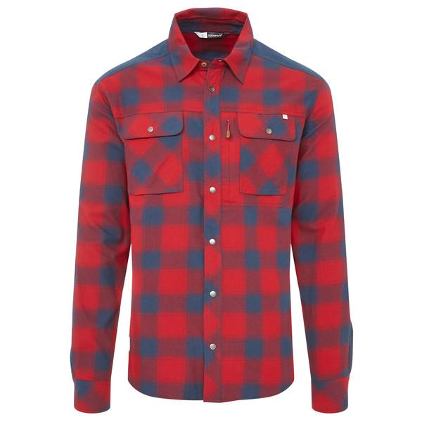 Norröna SVALBARD FLANNEL SHIRT (M) Männer - Outdoor Hemd