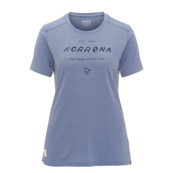 Norröna SVALBARD WOOL T-SHIRT Frauen - Funktionsshirt