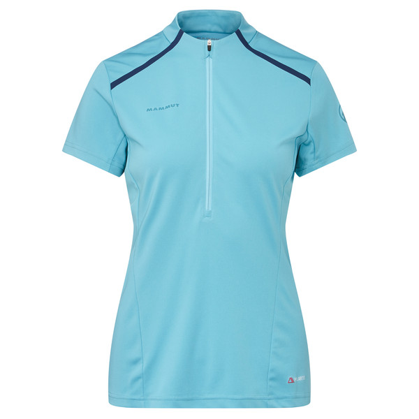 Mammut ATACAZO LIGHT ZIP T-SHIRT Frauen - Funktionsshirt