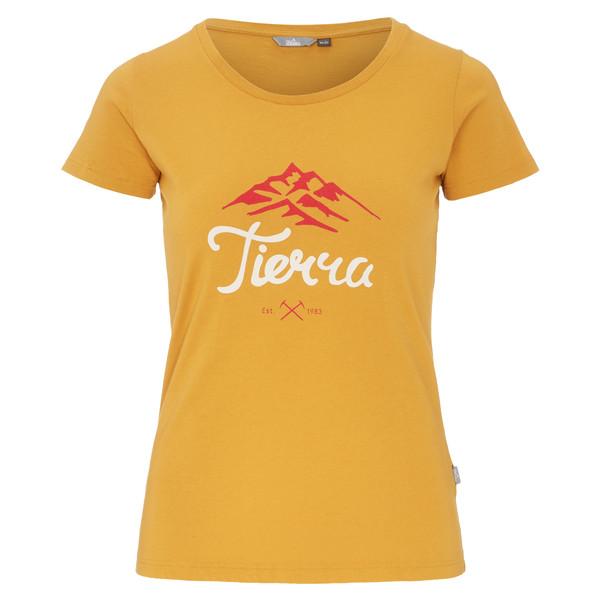Tierra MOUNTAIN SCRIPT TEE W Frauen - T-Shirt
