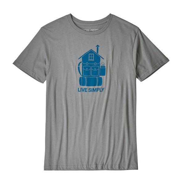 Patagonia M' S LIVE SIMPLY HOME ORGANIC T-SHIRT Männer - T-Shirt
